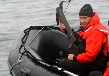 He hunts grey whales