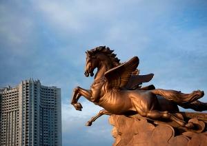Chollima Horse, national animal of North Korea