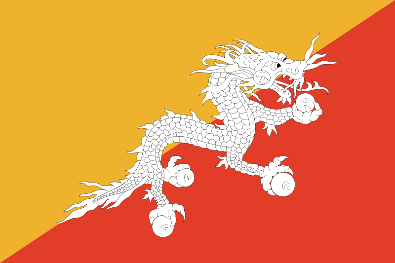 Image of: Emblem National Animal Of Bhutan Flag Of Bhutan Bhutan Jhr Group Blog Wordpresscom Top National Animals That Arent Really Real traveltuesday Jhr