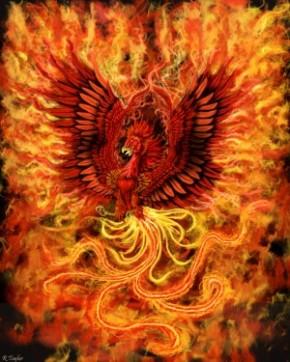 Phoenix, national animal of Greece