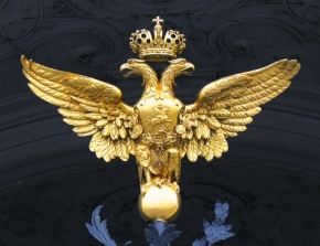 Double Headed Eagle, national animal of Russia