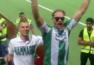 Alexander Skarsgård: True Soccer Fan!