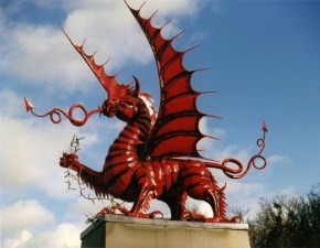 Welsh Dragon, National animal of Wales