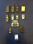 My cell phone choices over the years